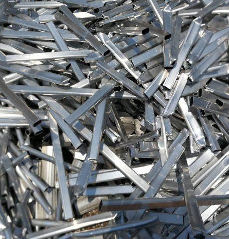 scrap metal recycling waste