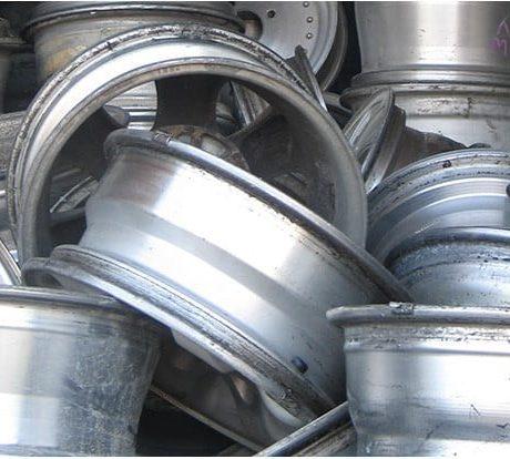 aluminum wheels recycling